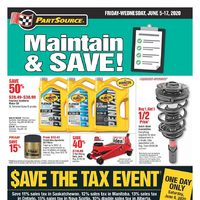 PartSource - Maintain & Save! Flyer