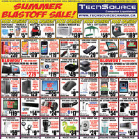Tech Source - Summer Blastoff Sale! Flyer