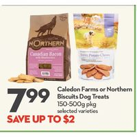 Caledon Farms Or Northern Biscuits Dog Treats