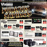 Visions Electronics - Furious Savings Flyer