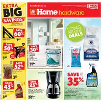Home Hardware - 2 Weeks of Savings - Long Weekend Deals Flyer