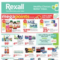 Rexall - Weekly - Mega Points Event Flyer
