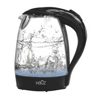Blue LED Lighting 1.7L Illuminating Blue LED Glass Cordless Kettle