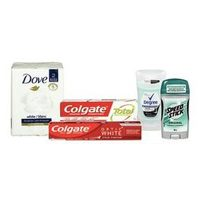 Dove Bar Soap, Colgate Total or Optic White Toothpaste or Toothbrushes or Degree or Speed Stick Anti-Perspirant or Deodorant