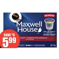 Maxwell House Pods