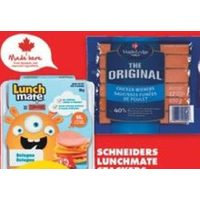 Schneiders Lunchmate Stackers or Kits or Maple Lodge Zabiha Halal Chicken Wieners or Bologna
