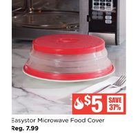 "Ksp Easystor Microwave Food Cover 10.5"" / 26 Cm Dia. Red"