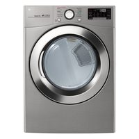 LG Pair with Wi-Fi Connectivity - 7.4 Cu. Ft. Dryer with TurboSteam