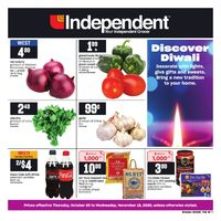 Your Independent Grocer - Discover Diwali Flyer