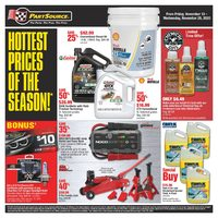 PartSource - Hottest Prices Of The Season Flyer