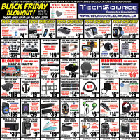 Tech Source - Black Friday Blowout! Flyer