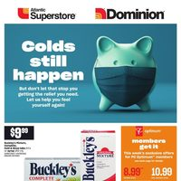 Atlantic Superstore - Colds Still Happen Flyer