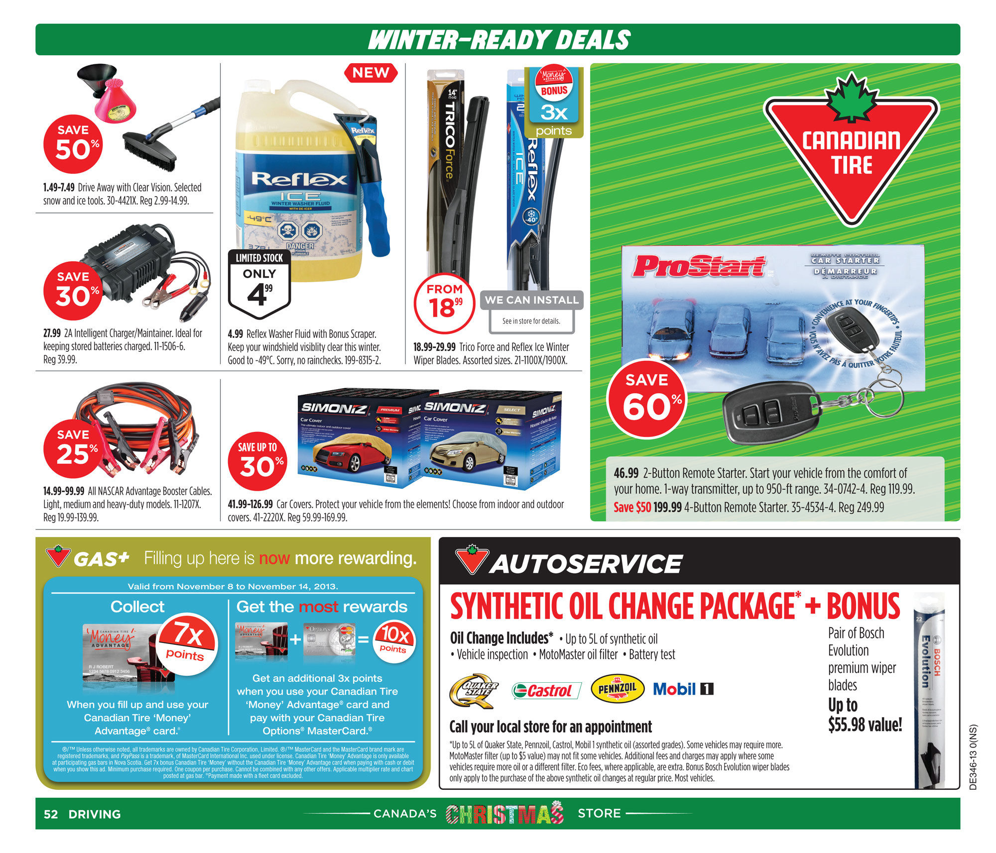 Canadian Tire Weekly Flyer - Weekly Flyer - Nov 7 – 14 - RedFlagDeals.com