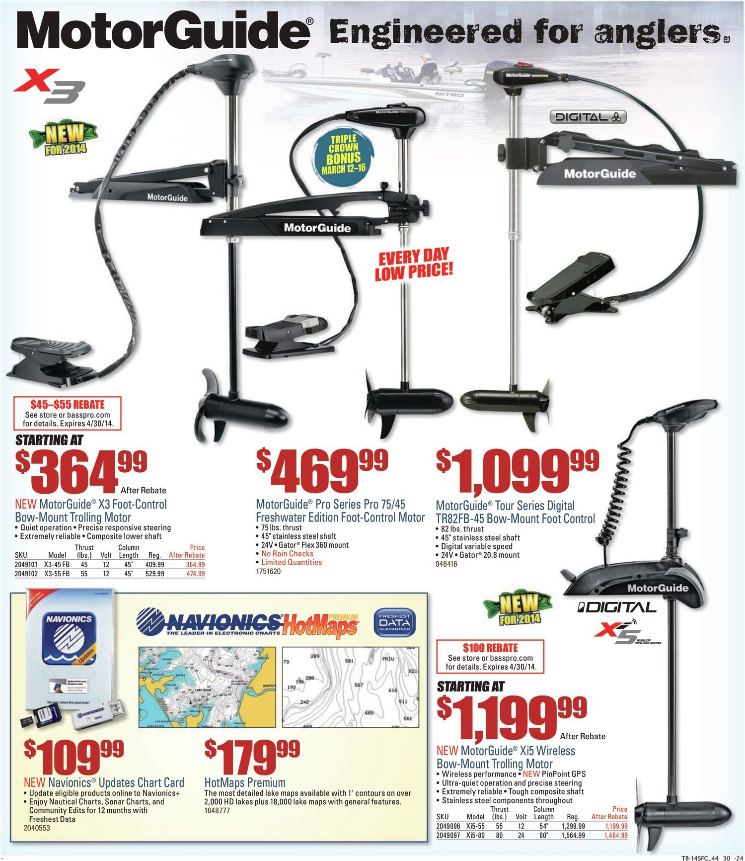 Bass Pro Shops Weekly Flyer Spring Fishing Classic Feb 28 Mar Motorguide 600 Series Trolling Motor 1998 Up Wire Diagram 16