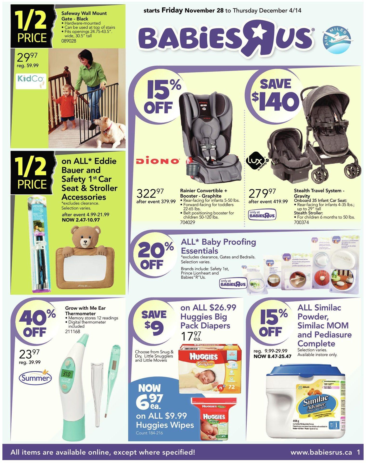 Babies R Us Weekly Flyer