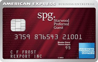 Compare best business credit cards in canada redflagdeals credit cards starwood preferred guest business credit card from american express reheart Gallery