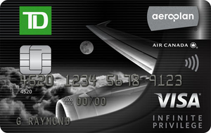 TD® Aeroplan® Visa Infinite Privilege* Card