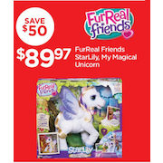 FurReal Friends StarLily, My Magical Unicorn  - $89.97 ($50.00 off)