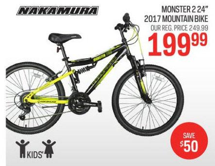 Sport Chek Nakamura Monster 2 2017 Mountain Bike Redflagdeals Com