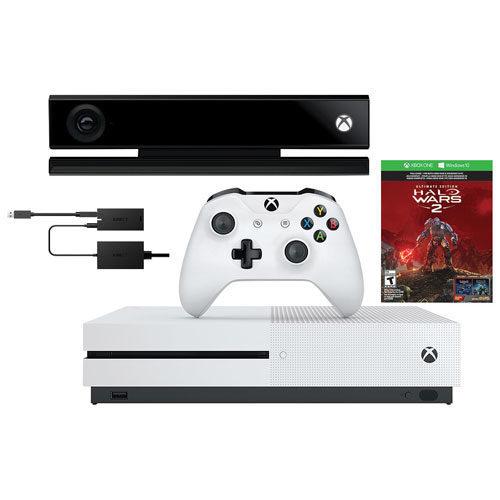 Best Buy: Xbox One S 1TB Halo Wars 2 Bundle with Kinect