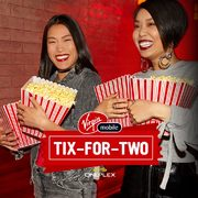 Virgin Mobile: Get a FREE Cineplex Buy One, Get One Free Voucher