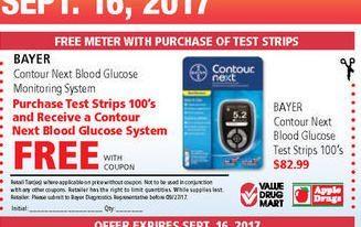 Apple Drugs: Bayer Contour Next Blood Glucose Test Strips