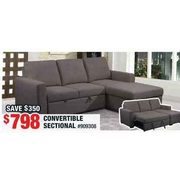 Convertible Sectional  - $798.00  ($350.00 off)