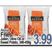 Alexia Fries Julien, Olive Oil or Sweet Potato - $3.99