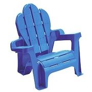 Adirondack Chair - Blue - $5.97
