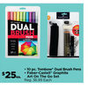 10 pc. Tombow Dual Brush Pens Faber-Castell Graphite Art On The Go Set - $25.00