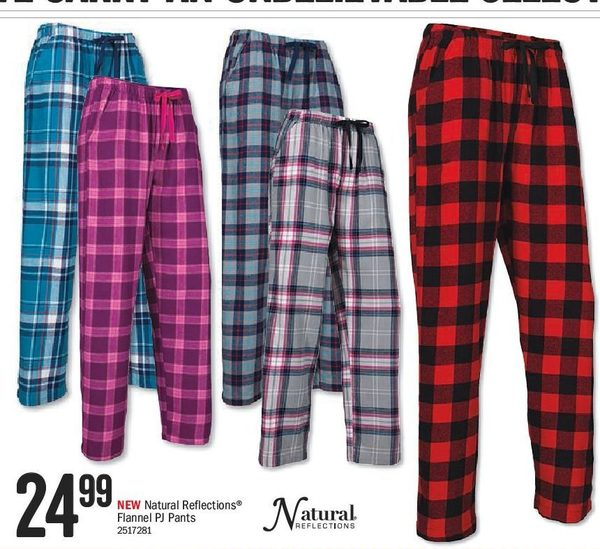 32b6f395c8 Bass Pro Shops  Natural Reflections Flannel PJ Pants - RedFlagDeals.com