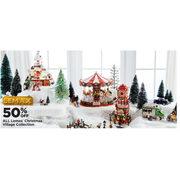 Lemax Christmas Village Michaels.Michaels All Lemax Christmas Village Collection