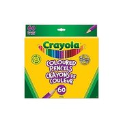 Crayola 60/pack Coloured Pencils - $8.00 (41% off)