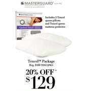 Masterguard tencel package  - $129.00