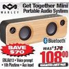 Marley Get Together Mini Portable Audio System - $108.00 ($70.00 off)