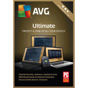 AVG Ultimate 2018 - Unlimited Users - 1 Year - $39.99 ($40.00 off)
