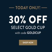 Sperry: 30% off Select Gold Cup Products
