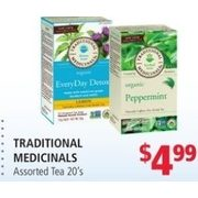 Traditional Medicinals Tea - $4.99
