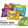 Bounce Protein Balls - 2/$4.00