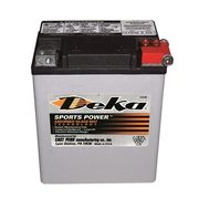 All Delka Power Sport Batteries - ETX15L - $143.99 (10% off)