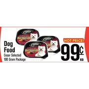 Cesar Dog Food - $0.99