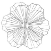 Metal Flower Wall Art - $16.79 ($13.20 Off)