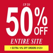Guess Factory: Up to 50% off Entire Site + EXTRA 10% off Orders $125+