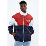 Aéropostale Mock Neck Colour Block Windbreaker - $25.00 ($24.99 Off)