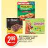 Betty Crocker Fruit Snacks, Fibre 1 Or Nature Valley Sweet & Salty Bars - $2.99