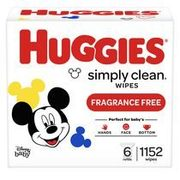 Huggies Wipes  - $18.47