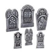 "19"" Tombstones, Set of 6 - $19.99 (20% off)"