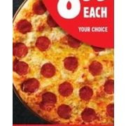 Pepperoni & Cheese 16'' X-Large Hot Pizza - $8.99