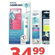 Philips Sonicare Power Toothbrushes or Power Toothbrush Replacement Heads - $34.99
