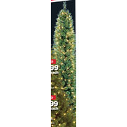 7 Ft. Pre-Lit Cashmere Pencil Tree  - $89.99 ($100.00 off)